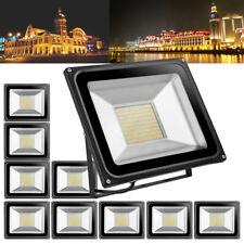 10Pcs 100 Watt LED Flood Light Warm White Spotlight Outdoor Lighting Garden Lamp