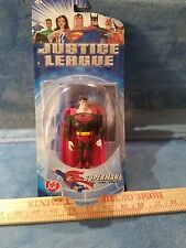 Mattel - Justice League Superman (Black/Red Costume)  - NEW