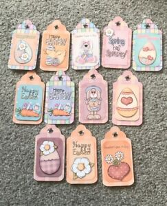 Easter Egg Gift Tags Party Favour Present
