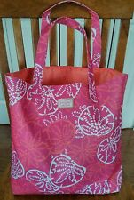 Lilly pulitzer for Estee Lauder pink summer tote/bag beach tote