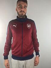 Arsenal Fc Puma Giacca Allenamento Training Jacket 2018 19 T7 Track Amaranto