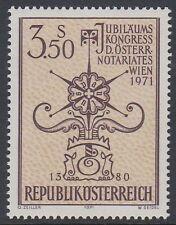 Österreich Austria 1971 ** Mi.1359 Notariatssignet Notaryship signet