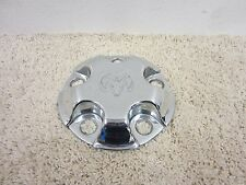 "02 - 2012 DODGE RAM 1500 OEM 17"" STEEL CHROME WHEEL CENTER CAP 52106536AC #77-4N"