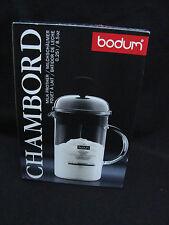 IDEAL GIFT Caffè Amante Bodum Chambord Latte Schiumatore 0.25L/8.5oz Shiny manuale