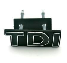 3D TDI Grill Emblem Auto Logo für VW Golf Passat Polo Touran Car Styling Schwarz