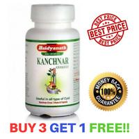 Baidyanath Kanchnar Guggulu | Kanchanar Guggul | Herbal Remedy 80 Tablets
