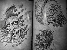 tattoo designs book a4 size 62 pages of jap mixed flash a very nice book
