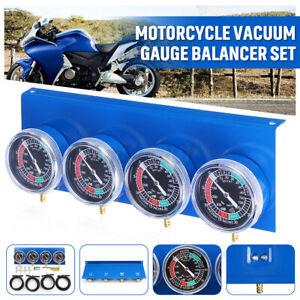 Motorrad 4 Vergaser Synchrontester 4 Synchronuhren Synchrontestgerät einstellen