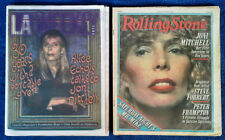 JONI MITCHELL - COVER STORIES  - LA WEEKLY 11/94 + ROLLING STONE 7/79 - ONE LOT