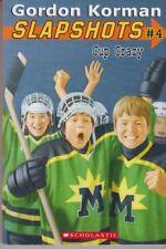 Slapshots #4: Cup Crazy - PB 2000 - Gordon Korman - Ice Hockey