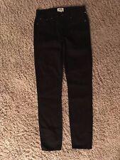 NEW $115  J CREW TOOTHPICK JEAN  in BLACK size 24  item B1281  NEW Jeans A88