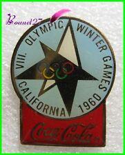 Pin's pins Badge Coca Cola Jeux Olympique California 1960 #H3