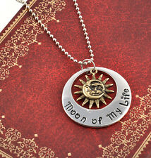 Retro Game of Thrones Moon of My Life My Sun and Stars Khal & Khaleesi Necklace