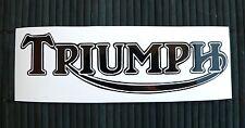 adesivo TRIUMPH sticker decal vynil vinile vetro auto moto chopper good race