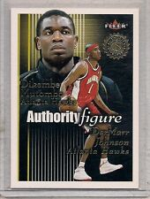 2000-01 Fleer Authority Figures Dikembe Mutombo/DerMarr Johnson #3 of 15 AF