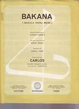 partition CARLOS bakana