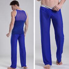 Pantalon interieur taille L bleu transparent  Manview by NEOFAN sheer Ref M02