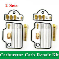 2 Sets Carburetor Carb Repair Kit For Suzuki RGV250 Gamma VJ21 88-91& VJ22 91-96