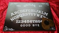 Wooden Ouija Board & Planchette ghost hunt Instructions magic bizarre spirit