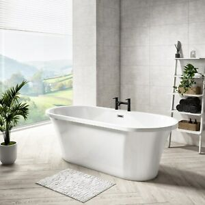 Freestanding Double Ended Bath 1670 x 730mm - Venice