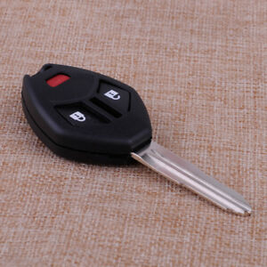 3 Button Remote Key Case Shell Housing Replace fit for Mitsubishi Eclipse Lancer