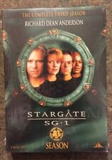 ** STARGATE SG1 - The Complete Third Season, DVD, brand new, factory sealed!