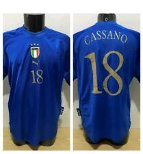Maglia Italia cassano Euro 2004  Shirt Camiceta Maillot Rara Puma