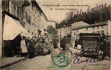 CPA Circuit d'AUVERGNE Coupe Gordon Bennett 1905. Une Hate a PONGIBEAUD (374723)