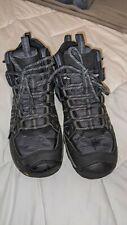 New listing Men's KEEN Oakridge Trail Hiking Mid Boots, Black, Size 9.5, Waterproof