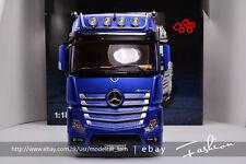 NZG 1:18 Benz Actros FH25 Trailer head blue