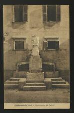cartolina MONTECASTELLO VIBIO monumento ai caduti