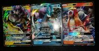 ULTRA RARE Raikou, Entei, Suicune GX Set Pokemon Holo Foil Legendary Dogs - VLP