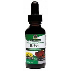 Nature's Answer Reishi 1000mg Herbal Liquid Extract 30ml Ganoderma Lucidum