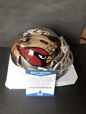 Kyler Murray autographed signed Chrome Mini Helmet Beckett BAS COA Cardinals NFL
