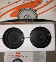 "JBL DS50 Decade 5 1/4"" Automotive Two-Way Car Speaker System *New Open Box *"