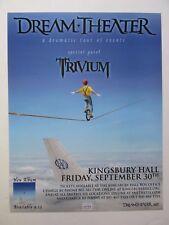 DREAM THEATER  concert poster 2011 / Salt Lake City
