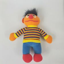 "Vintage 1984 Sesame Street 10"" Ernie Plush Doll 72900 Rare in this Condition"