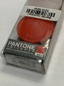 Red Kikkerland Pantone Contact Lens Case, Assorted Colors