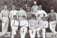 Postcard 1875 Yorkshire CCC County Cricket Club Team 55K