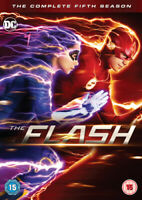 The Flash: The Complete Fifth Season DVD (2019) Grant Gustin cert 15 5 discs