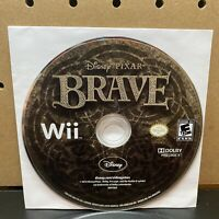 Nintendo Wii Disc Only Tested - Brave Disney Brave - Free Ship