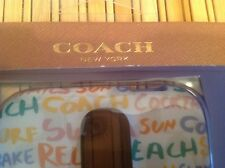 Brand new Coach cell phone case for Samsung Galaxy S4