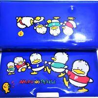 """""""AHIRU NO PEKKLE"""" SANRIO JAPAN Vintage Rare Anime Manga Retro Puffy Pencil Case"""