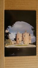 Postcard unposted Montgomeryshire, Welshpool, Powis castle, The courtyard