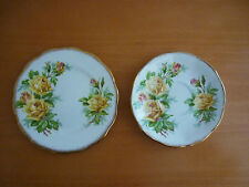 VINTAGE ROYAL ALBERT TEA ROSE BREAD&BUTTER PLATE & SAUCER ENGLAND REG NO 8390565