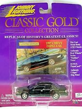 Johnny Lightning Classic Gold Collection 1997 Chevy Impala SS Cragar Mag Rims