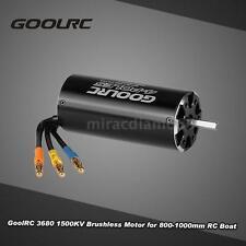 GoolRC 3680 1500KV 4 Poles Brushless Sensorless Motor Fr 800-1000mm RC Boat J2K3