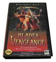 Blades of Vengeance Sega Mega Drive PAL *Complete*