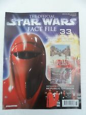 Deagostini Official Star Wars fact file - issue 33