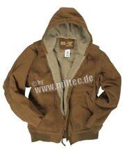 Abrigos y chaquetas de hombre en color principal marrón 100% algodón